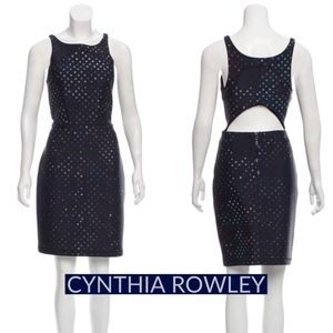 Cynthia Rowley Midnight Sleeveless Dress M/8 NWOT